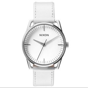 Nixon Mellor Watch White Leather Watch